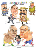 caricatures illustrations